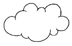 comptine nuage - Dessin De Nuage